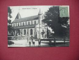 Cpa.r - Muids (27) - L'église - éditions Langlois - Autres Communes