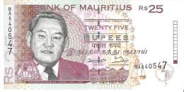 Mauritius - Pick 42 - 25 Rupees 1998 - Unc - Maurice