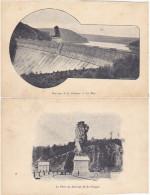 Barrage De La Gileppe - Carte Postale (?) Particulière (imprimée Sur Les Deux Faces) - Gileppe (Barrage)