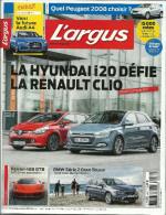 L'argus 4457, La Côte Des Voitures D'occasion, Essai Hyundai, Ferrari, BMW, Peugeot 2008 - Auto/Moto