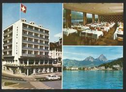 BRUNNEN SZ Hotel ELITE Am See Tea Room Terrassen-Restaurant - SZ Schwyz
