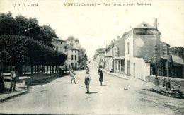 N°44915 -cpa Ruffec -place Jarnac- - Ruffec