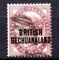 Y1072 - BECHUANALAND 1892 , Yvert N. 34 Usato - Bechuanaland (...-1966)