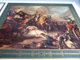 9 PHOTOS COULEUR GRAND FORMAT DES TABLEAUX REPRESENTANT LES GRANDES VICTOIRES DE NAPOLEON BONAPARTE - Army & War