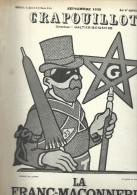 Franc-Maçonnerie : Crapouillot 1938, Dessin De Jossot