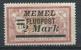 Allemagne - Memel - Flugpost - 1922 - Michel 102 - Neuf * - Klaipeda