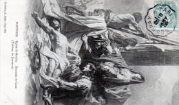 Cpa 1906, PONTOISE, église St Maclou, -descente De Croix Par Jouvenet   (45.41) - Peintures & Tableaux