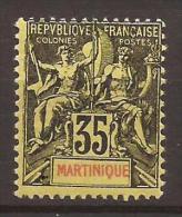 MARTINIQUE - N° 48 - NEUF X MVLH - Martinique (1886-1947)