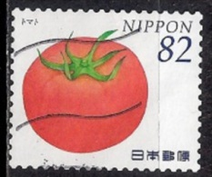 Japan 2014 - Vegetables & Fruits - Used Stamps