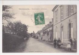 Cpa COURDEMANCHE Rue Principale Partie Basse Enfants A La Pose  - Bouveret - France