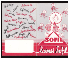 Calendrier 1959 Laines Sofil (PPP1574) - Calendriers