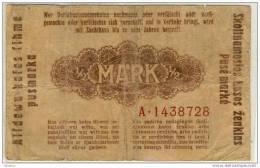 Del-01 028  0.5 Mark 1918 - Lituanie