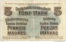 Del-01 029  5 Mark 1918 - Lituanie