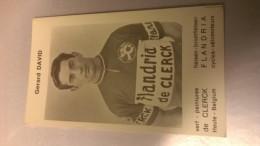 Gérard David Flandria De Clerck - Cycling