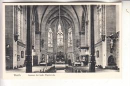 4294 ISSELBURG - WERTH, Kath. Kirche, Innenansicht - Borken