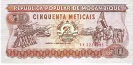 Mozambique - Pick 129 - 50 Meticais 1986 - Unc - Mozambico