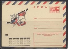 RUSSIA USSR Stamped Stationery Ganzsache 9303 1973.11.21 Air Mail Fauna Birds - 1923-1991 UdSSR