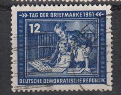 DDR Yvert nr 47  � used �  Postage stamp day 1951