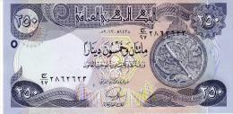 Iraq p.new 250 dinars 2013 unc