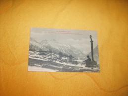 CARTE POSTALE ANCIENNE CIRCULEE DE 1910. / LES PYRENEES.- VALLEE D'AURE.- LA CHAINE DE TRAMEZAYGUES.../ CACHET + TIMBRE - Francia