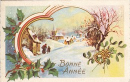 Thématiques Mini Carte Postale Voeux Meilleurs Voeux Bonne Année Paysage - New Year