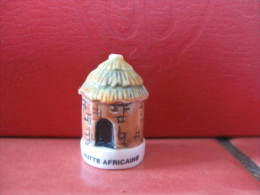 f�ve Hutte africaine s�rie Africa  2002 - f�ves - rare