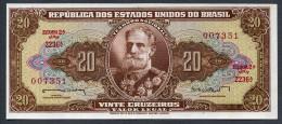 Brésil P178  20 Cruzeiros 1962  C088  UNC  Série 2236 N° 007351 - Brasilien