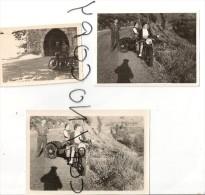 5 PHOTOS ANIMÉES . ANCIENNE MOTO. - Places