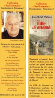 MP - PRESSES De La CITE - La Fille De Panama De Jean-Michel Thibaux - Marque-Pages