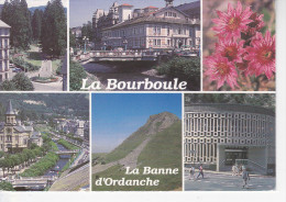 LA BOURBOULE (63-Puy-de-Dôme),Séquoias Du Parc Fenestre, Hôtel De Ville, Eglise, Banne D'Ordanche, Thermes Choussy, 1995 - La Bourboule