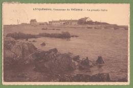 CPA - FINISTERE - LOCQUEMEAU - COMMUNE DE TREDREZ  - LA GRANDE CALE - Collection Kéraudren - Autres Communes