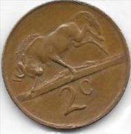 2 CENTS 1979 - Afrique Du Sud