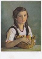 Künstler AK:Max Rimboeck - Mädchen Mit Früchten - Karte Nicht Gel. - Andere Zeichner
