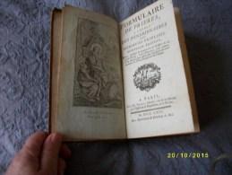 Formulaire De Prières à L'usage Des Pensionnaires Des Religieuses Ursulines 1769 - Books, Magazines, Comics