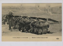 Belgische Soldaten Wachten Af - Guerre 1914-18