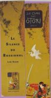 Marque-page °° Gallimard - L.Hearn Le Clan Des Otori Le Silence Du Rossignol  6 X 21 - Bladwijzers