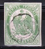 1869 - Télégraphe N° 2 - Oblitéré - TB - Cote 275 - Télégraphes Et Téléphones