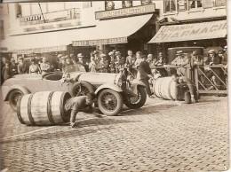 BUGATTI 7932- COURSE AUTOMOBILE A IDENTIFIER -TONNEAUX-CAFE EXPORT VAN DEN HEUVEL-WORTHINGTON-PORTO SHERRY-PHARMACIE - Automobiles