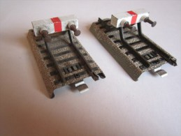 Marklin - Lot De 2 Butoirs 5121 - Voir Description - Rails