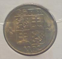 CZECHOSLOVAKIA FEDERAL REPUBLIC 1 KORUNA 1992 PICK KM151 UNC - Tchécoslovaquie