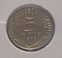 FRANCE-FRANCIA 5 CENTIMES 1976 PICK KM933 UNC - C. 5 Centimes
