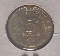 FRANCE-FRANCIA 5 CENTIMES 1979 PICK KM933 UNC - Frankreich
