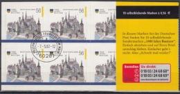 Bund MiNr. MH 48 A O 1000 Jahre Bautzen - BRD