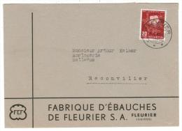 Suisse /Schweiz/Svizzera/Switzerland //Pro-Juventute  //lettre Pour Reconvilier - Pro Juventute