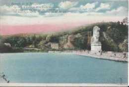 Barage De La Gileppe - Route De Jalhay - Circulé En 1927 - Ed Legia - Couleurs - Dos Séparé - TBE - Jalhay