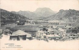 CARTAGENA ARSENAL Y DIQUE ESPANA 1900 - Murcia