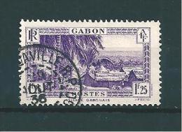 Colonie Timbres  Du Gabon  De 1932/33  N°140A  Oblitéré - Gabon (1886-1936)