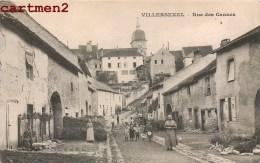 VILLERSEXEL RUE DE CANNES ANIMEE 70 - Unclassified