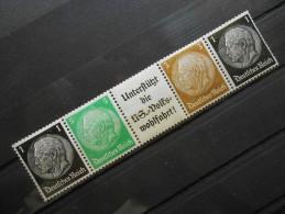 D.R.Mi Markenheftchen** - 1937/38 - Unused Stamps