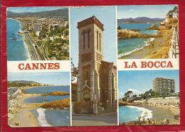 CANNES  LA BOCCA - Dépt 06 - MULTIVUES  - CPSM - Cannes